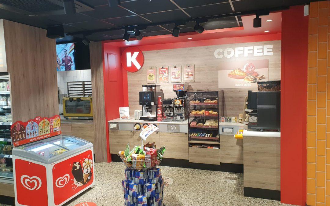 Circle K uppdaterar butiker